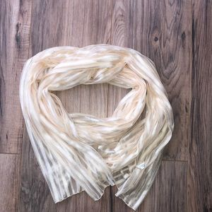 Accessories - Creamy Sheer Scarf